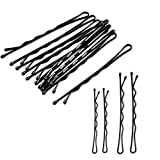 250 Pieces 2 Sizes Hair Pins for women, Black hair Grips Clip(200pcs with1.96 inch,50pcs with 2.36inch) – Ideal for all hair types and all types of hair styles …