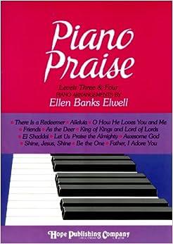 Book Piano Praise Levels 3 & 4