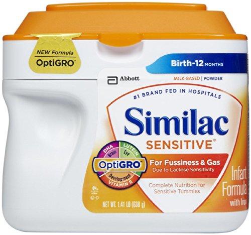 Similac Sensitive Infant Formula Fussiness product image