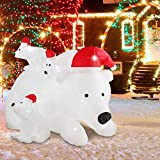 AsterOutdoor 7ft Christmas Decorations Inflatable