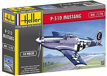 Heller - 80268 - Maqueta para Construir - P-51 Mustang - 1 ...