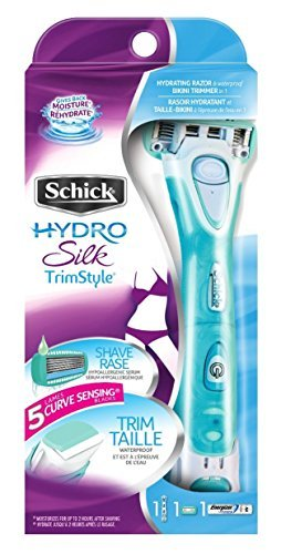 Schick Hydro Silk Trim Style Razor and Bikini Trimmer by Schick