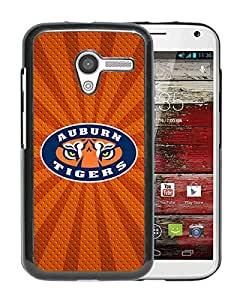 auburn tigers Black Customize Motorola Moto X Phone Cover Case