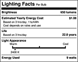 Lighting Science FG-02263 Good Night LED Household Light Bulbs