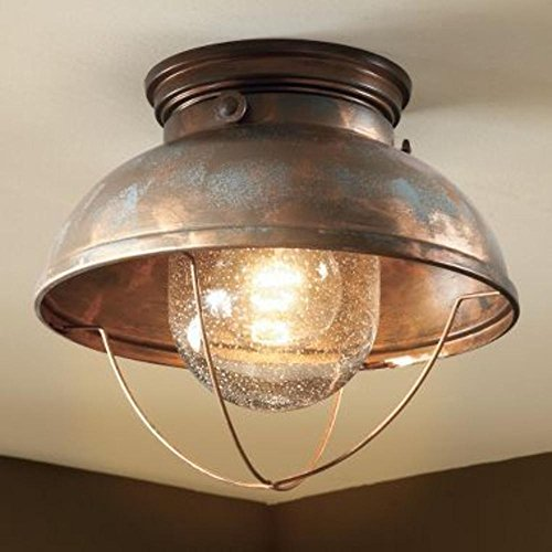 Flushmount Ceiling Light   This Flushmount Ceiling Light Is A Great Lighting  Fixture For Any Home, Cabin, Or Lodge. Satisfaction Guaranteed!