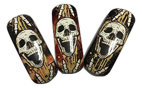 Dead Guys Rock - Rock On - Skull EyeGlass Case ! Walking Dead !