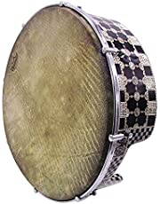 The 16'' Gawharet El Fan Professional Mother Of Pearl Bandir Dof With advance Tuning Lugs With Remo fish skin (DOFS1F)