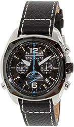 Bulova Men's 98B226 Precisionist Analog Display Japanese Quartz Black Watch