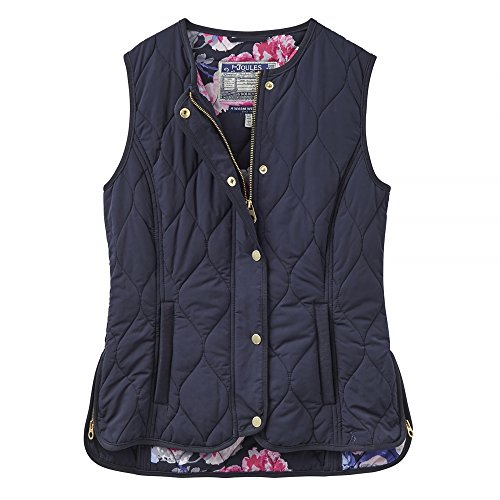 Joules Womens/Ladies Jinty Collarless Gilet Marine Navy