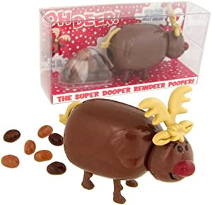 Reindeer Jelly Bean Candy Poopers [Set of 2 Gift Packs]