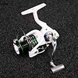 Cheap SONGSONG Spinning Fishing Reels Light Weight Spinning Spinner Reels 12+1BB Ball Bearings