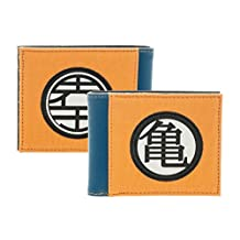 Dragon Ball Z Orange Bi-Fold Wallet
