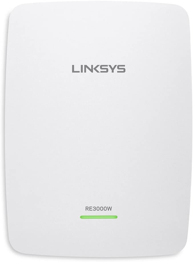 Linksys RE3000W N300 Wi-Fi Range Extender - (Renewed)