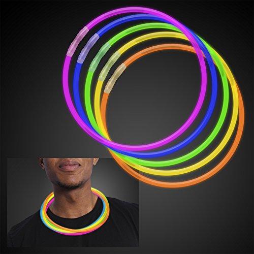 50 22 Quot Premium Glow Stick Necklaces Assorted Colors