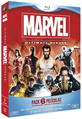 Marvel. Ultimate Heroes (Pack 6 películas) [Blu-ray]: Amazon.es ...