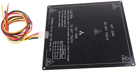 Huacaili Bloque de Calentamiento Impresora 3D 12V / 24V MK3 LED ...