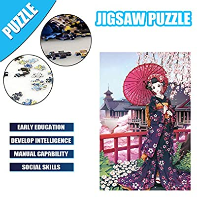 Voberry Puzzles for Adults 1000 Piece, Classic Jigsaw Puzzle Children Wooden Puzzle DIY Cherry Blossom Home Decor Festival Gift Intellectual Game Wall Art 29.53 x 19.69inch (Red): Car Electronics
