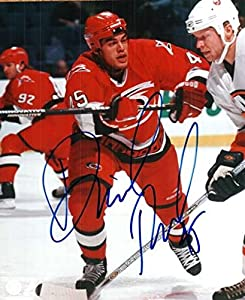 David Tanabe Autographed 8x10 Photo Carolina Hurricanes - Certified Authentic