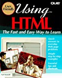 Using HTML, Tom Savola, 0789706229