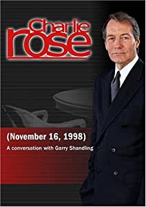 Charlie Rose with Garry Shandling (November 16, 1998)