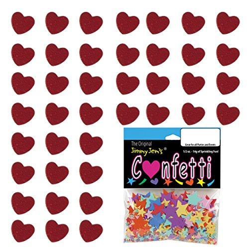 Confetti Heart 1/4
