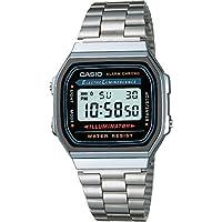 Men's A168W-1 Stainless Steel Watch