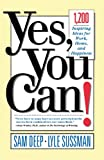 Yes, You Can!, Sam Deep and Lyle Sussman, 0201479656