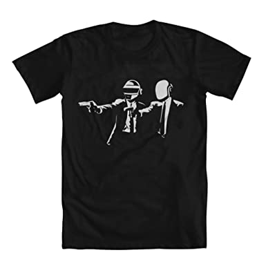 Amazon.com: Daft Punk Pulp Fiction Men's T-Shirt: Clothing