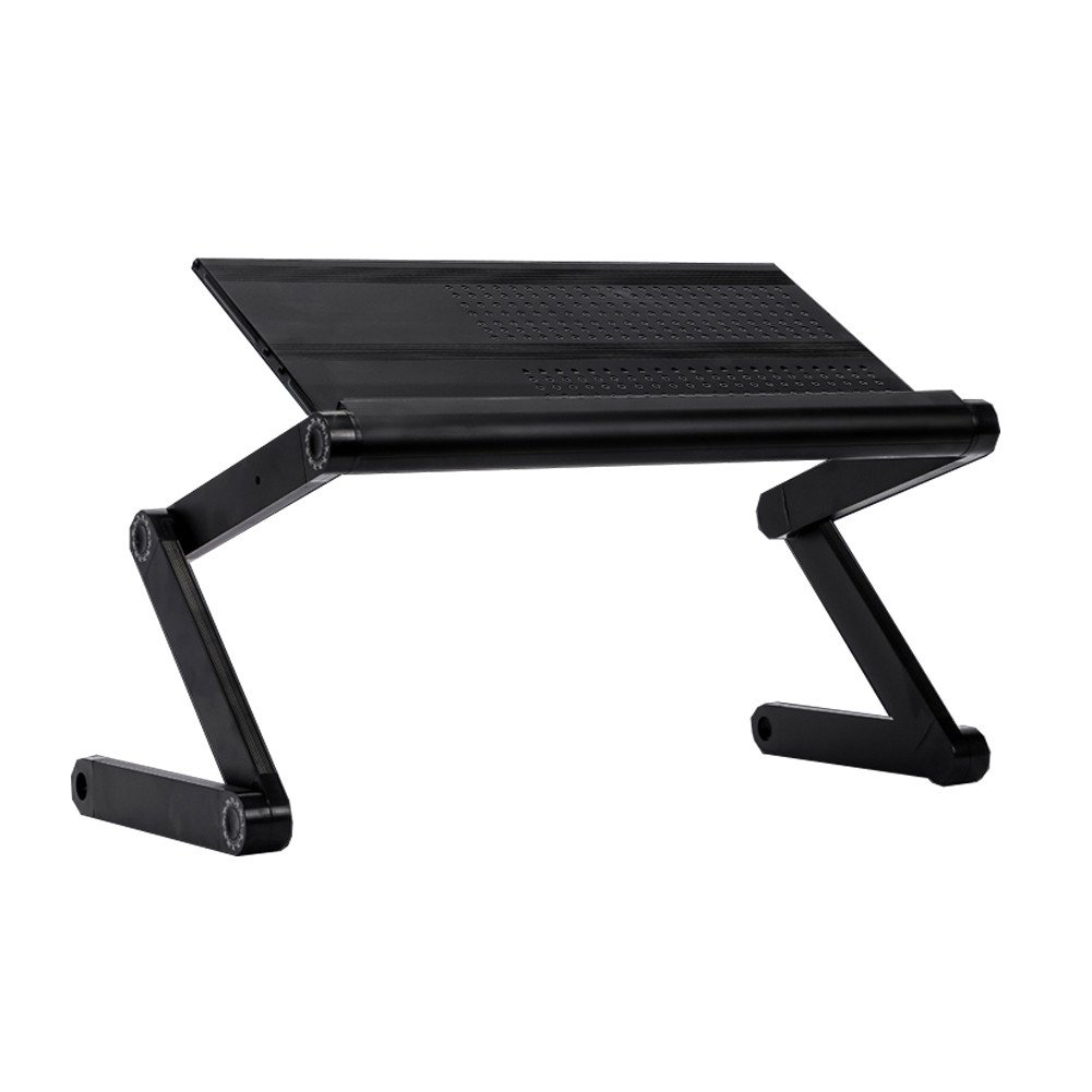 DDLBiz Portable Laptop Table Adjustable Multifunctional Mount Stand Reading Holder (Black) by DDLBiz (Image #1)