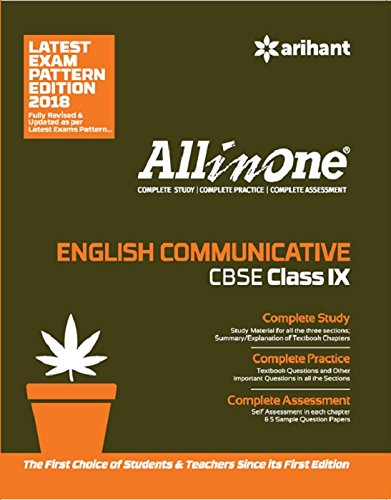 All in One ENGLISH COMMUNICATIVE CBSE Class 9th: Amazon in: Gajendra
