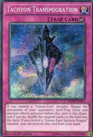 Yu-Gi-Oh! - Tachyon Transmigration (WSUP-EN012) - World Superstars - 1st Edition - Prismatic Secret Rare