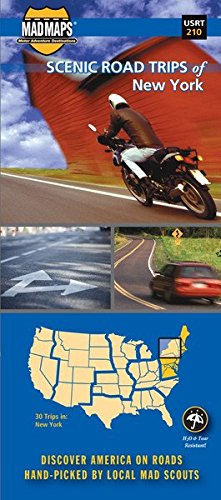 MAD Maps - Scenic Road Trips Map of New York - USRT210 ebook