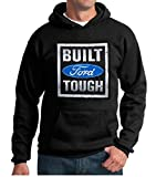 Ford Built tough Black Hooded Sweatshirt, Medium