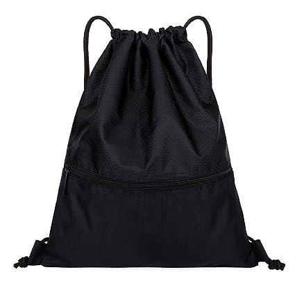 5754a56a7fff Cinhent Backpacks 2019 Women Outdoor Fitness Bundle Pocket Drawstring Sport  Bag (Black)