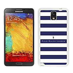 High Quality Note 3 Case,Lauren Ralph Lauren 02 White Samsung Galaxy Note 3 Screen Phone Case Nice and Cool Design