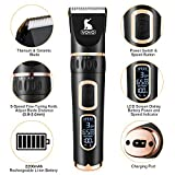 VOVO Dog Clippers Professional 3-Speed Low Noise