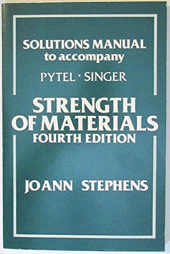 Sol Strength of Materials 4e