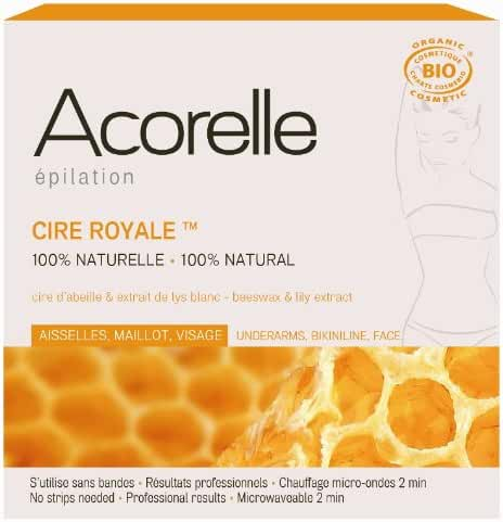 Acorelle Professional Wax for Underarms and Bikini, Brown, 3.5 Ounce