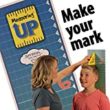 Measuring Up–The Family Height Chart Kit. Fun family gift. Mothers, grandmothers and kids love it. Innovative Square makes it easy, fast and accurate! Great gift for Mother's Day birthdays Christmas.