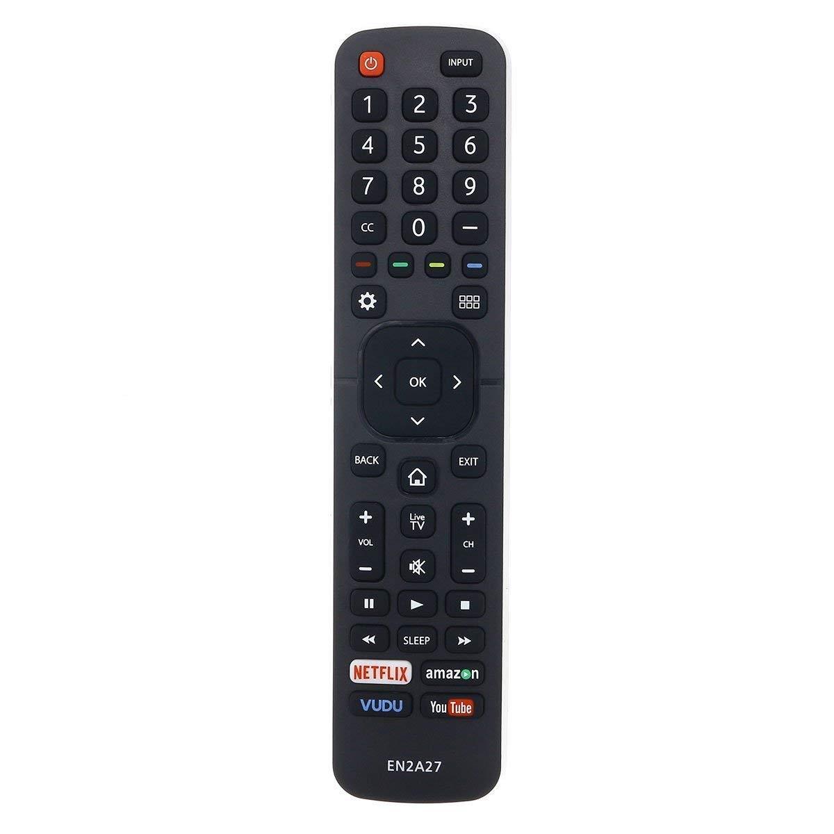 Control Remoto EN2A27 Compatible con Hisense LED HDTV TV ...