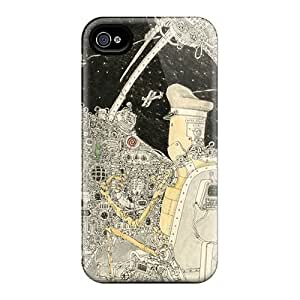 Fashion Cases For Iphone 4/4s- Flying Through Space Defender Cases Covers