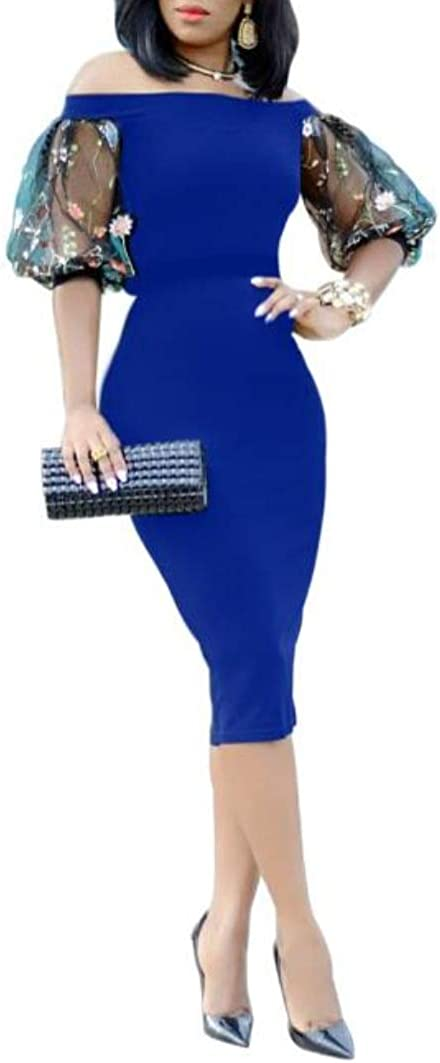 LETSVDO Women/'s Tassels Sleeve Sequin Bodycon Cocktail Party Club Evening Mini Dress Plus Size