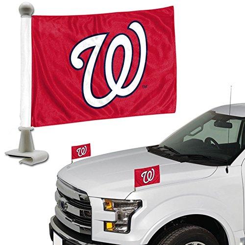 ProMark Washington Nationals 2-Pack Ambassador Style Auto Flag Car Banner Set Baseball