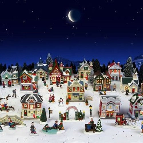 Cobblestone Corners 2013 Christmas Village 61 Piece