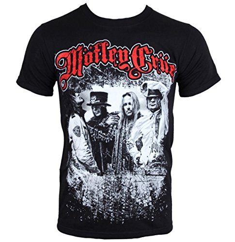 Motley Crue Greatest Hits Vince Neil Tommy Lee Official Tee T-Shirt Mens Unisex (X-Large) Black