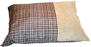 Dallas Manufacturing Co. 29-Inch by 39-Inch Pillow Wag Bag, Brown