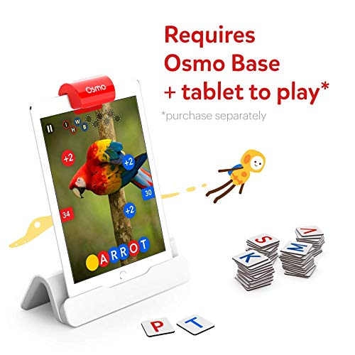 5175H8SHx9L - Osmo - Genius Starter Kit for iPad (NEW VERSION) - Ages 6-10 - (Osmo Base Included)