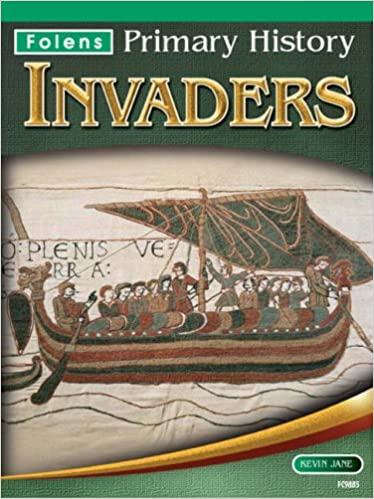 Book Invaders Textbook (7-11) (Folens Primary History)