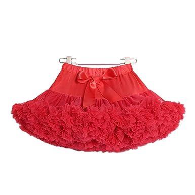 LYCLOTH Falda Niña Niño Princesa esponjosa vestido de fiesta falda ...