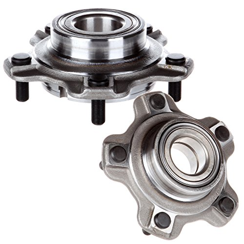 OCPTY New Wheel Hub Bearings Front Axle 5 Lugs with ABS Compatible for Chevrolet Tracker GMC Suzuki XL-7 2001-2006 OE 513193 (Pack of 2)